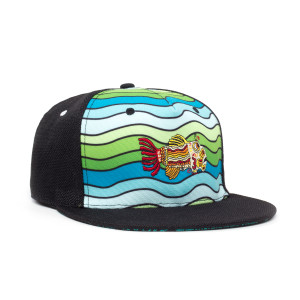 Grassroots California Waves Shallow Strapback