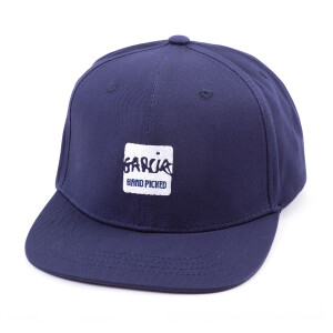 Garcia Hand Picked Navy Flat Brim Hat