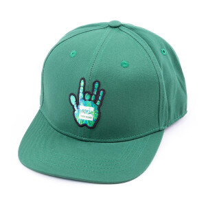 Garcia Hand Picked Green Flat Brim Hat