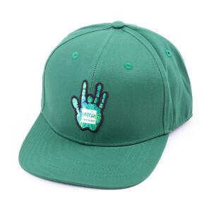 Garcia Hand Picked Green Flat Brim Hat