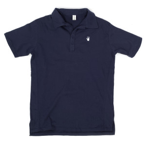 Jerry Garcia Handprint Organic Polo Shirt