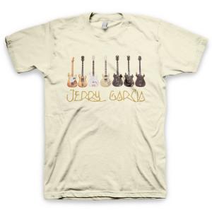 Jerry Garcia Guitars Organic T-Shirt