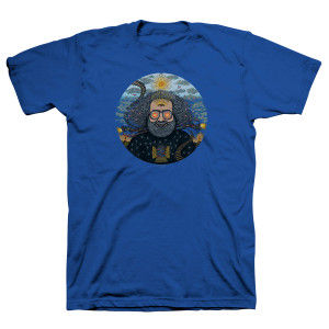 "Jerry Garcia ""Bicycle Day 2017"" Organic T-Shirt"