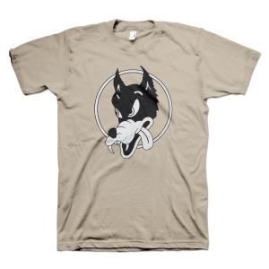 Jerry Garcia Organic Wolf T-Shirt