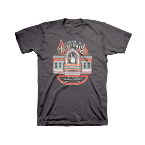 Home for the Holidays Organic Event T-Shirt