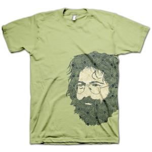 Jerry Garcia Henna T-Shirt