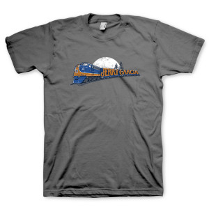 Jerry Garcia Freight Train T-Shirt
