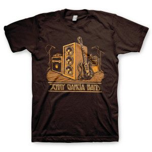 Jerry Garcia Roadcase Organic T-Shirt