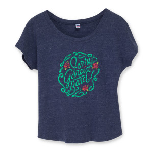 Jerry Garcia Band Rose Logo Women's T-Shirt