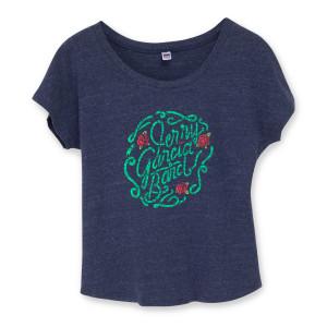 Jerry Garcia Band Rose Logo Women's T-Shirt