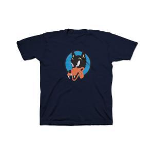 Jerry Garcia Wolf Organic Kid's T-Shirt