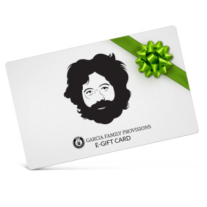 Jerry Garcia Store Electronic Gift Certificate