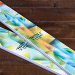 "Limited Edition Jerry Garcia ""Facets 1"" Icelantic Skis"