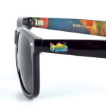 Fish Wayfarer Sunglasses with Case