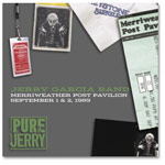 Jerry Garcia Band: Merriweather Post Pavilion, September 1 & 2, 1989