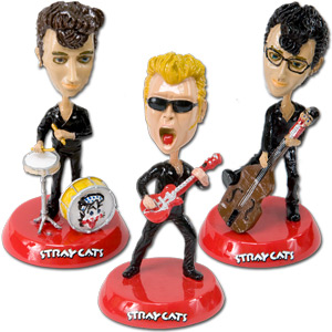 Limited Edition Stray Cats Bobble Heads
