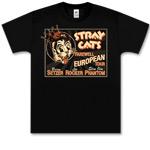 Stray Cats - Royal Cat Black T
