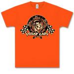 Stray Cats - Racing Cat Orange T