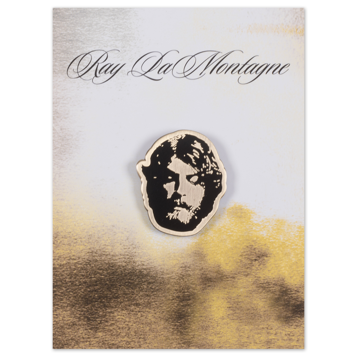Ray LaMontagne Face Pin