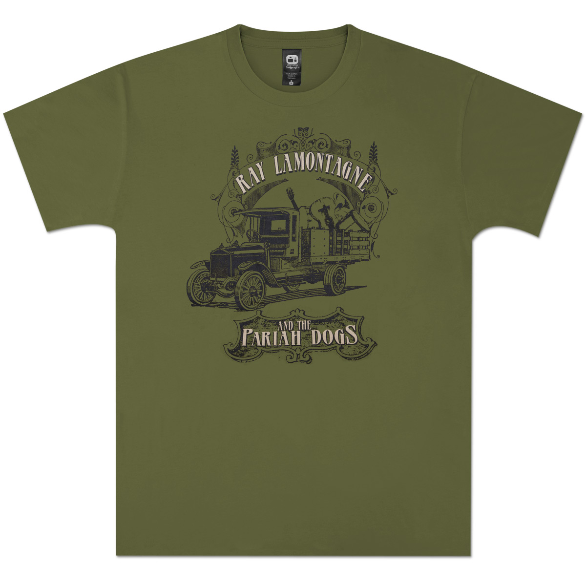 Ray LaMontagne Truck T-shirt