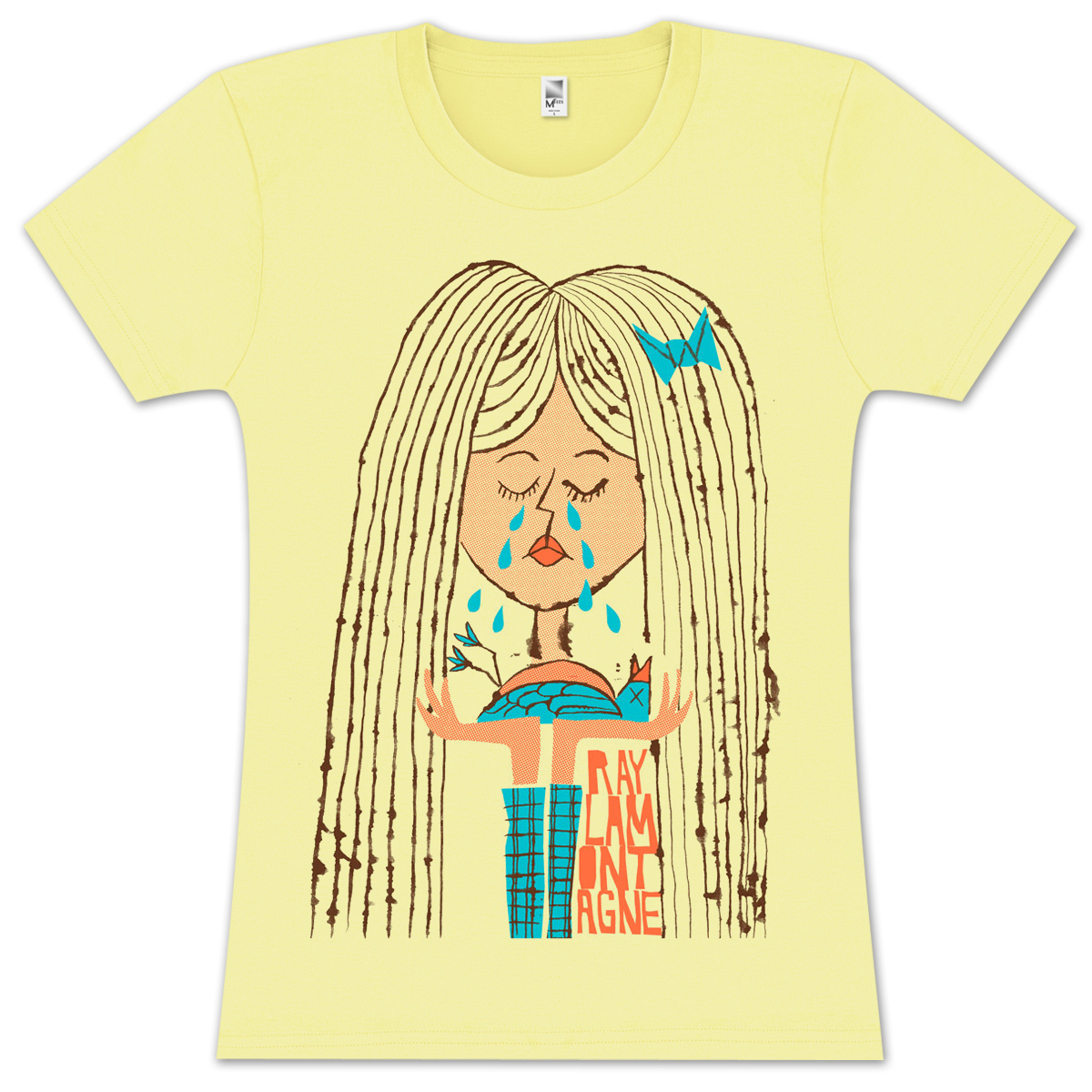 Ray LaMontagne Ladies Sad Girl T-shirt