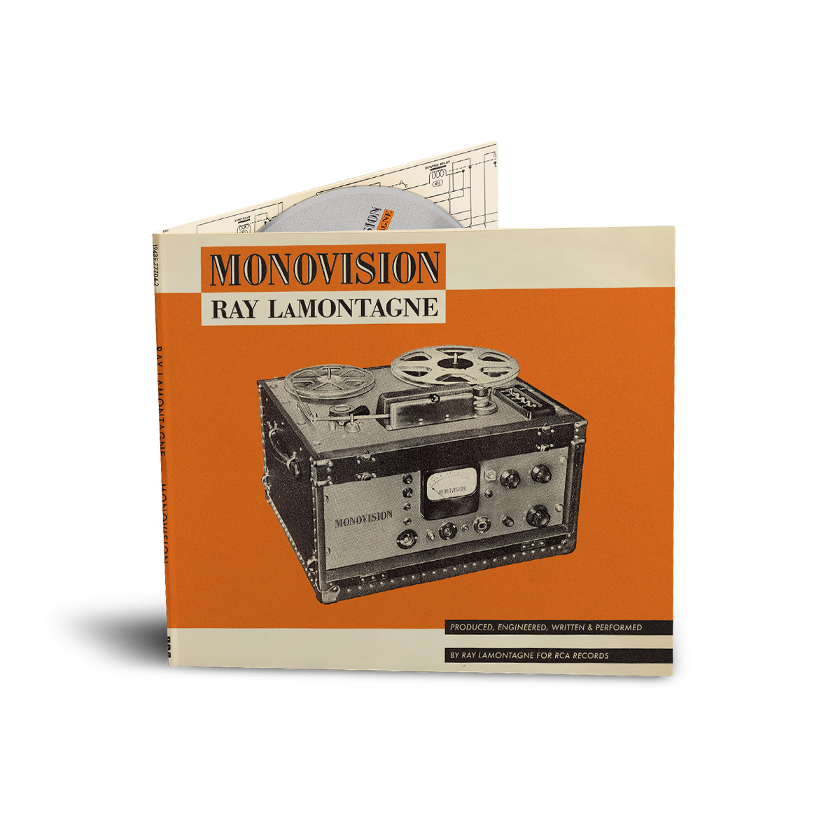 AUTOGRAPHED Monovision CD + Digital Download