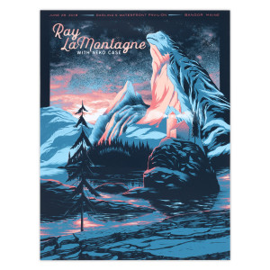 Part Of The Light Tour 2018 - 6/28 Bangor ME Poster
