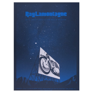 Ray LaMontagne 2014 Orlando, FL Event Poster