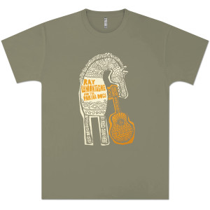 Ray Lamontagne Men's Horse Troubadour T-Shirt