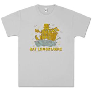 Ray LaMontagne Boat Unisex Silver T-shirt
