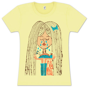 Ray LaMontagne Ladies Sad Girl T-shirt