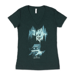 Ray LaMontagne I Will Shelter You Ladies T-shirt