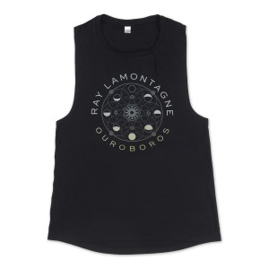 Ray LaMontagne Ouroboros Ladies Tank Top
