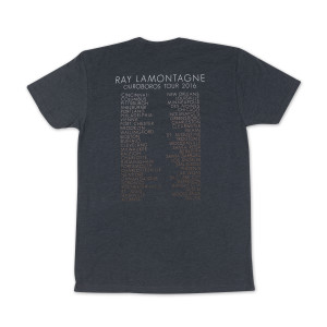 Ray LaMontagne Ouroboros 2016 Tour Dates T-shirt