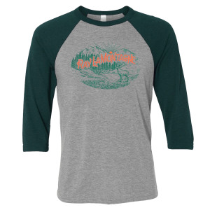 Ray LaMontagne Wilderness Baseball Raglan Tee