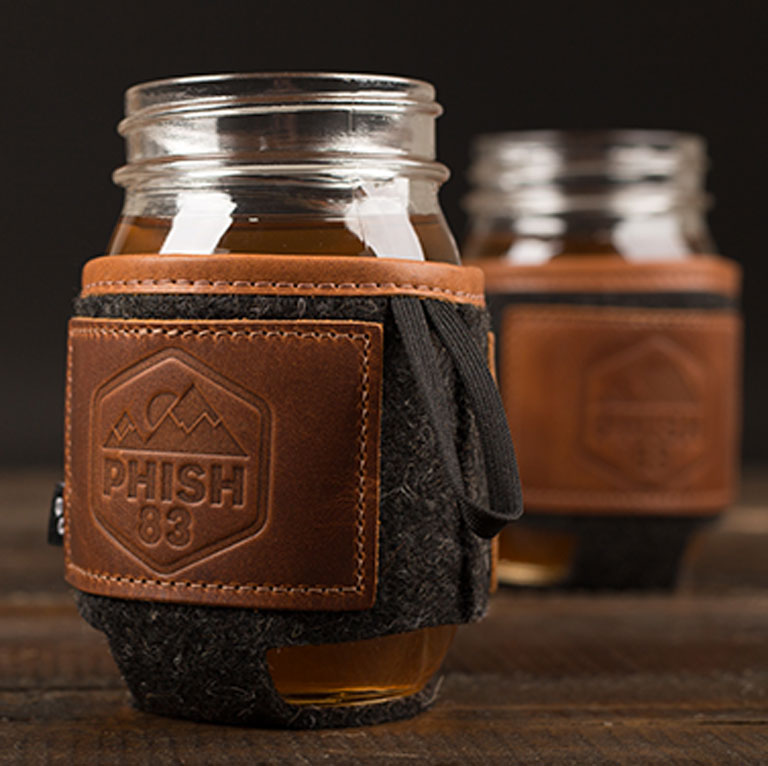 Best of the Rest - Ascend Leather/Felt Koozie