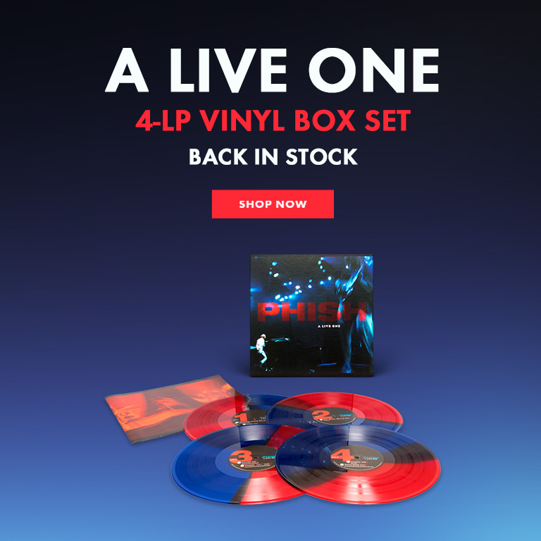 A Live One Vinyl - Back In Stock