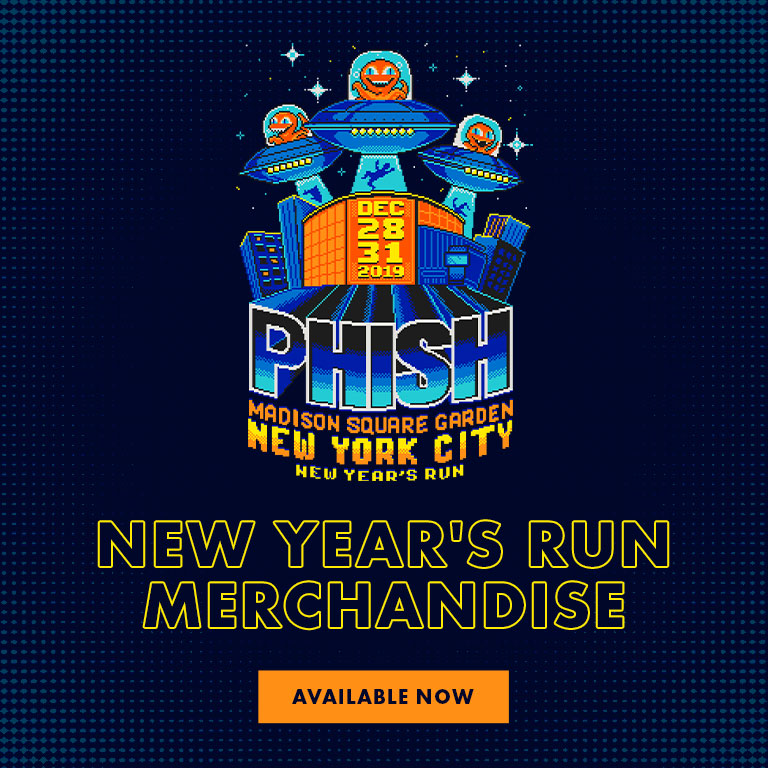 Phish New Year's Run 2019 - Official Event Goods