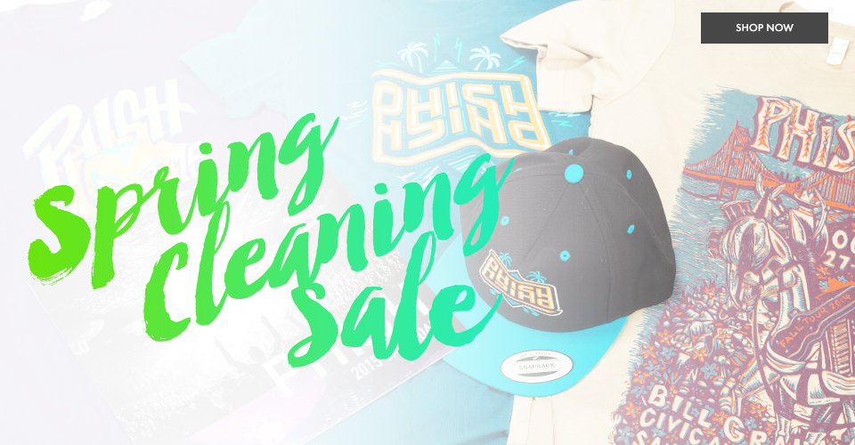Phish Dry Goods Spring Cleaning Sale