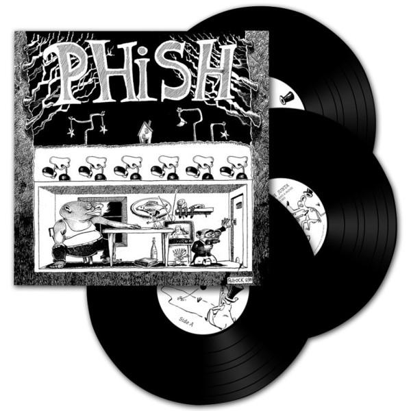 Junta' 3-LP Vinyl   Shop the Phish Dry Goods Official Store