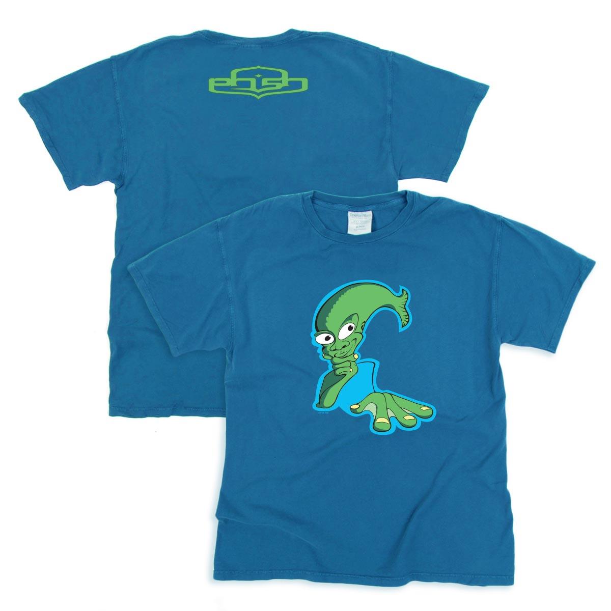 Aquaman Tee on Summer Blue