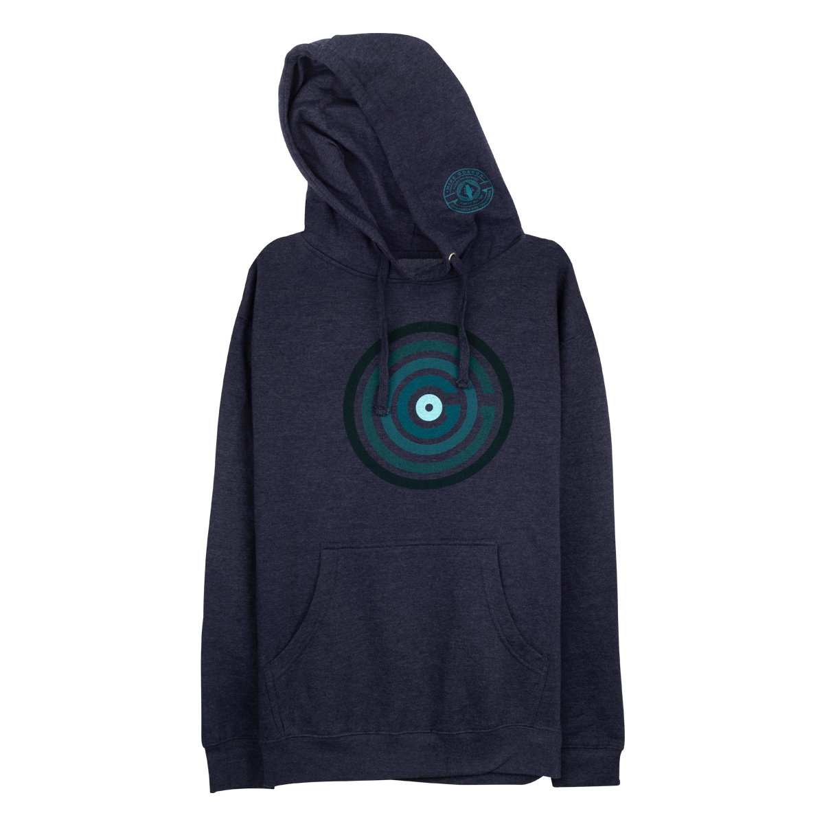 Mike Gordon OGOGO Pullover Hoodie on Heather Navy