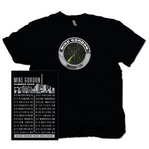 Mike Gordon Radar Blip Black Summer Tour T-Shirt