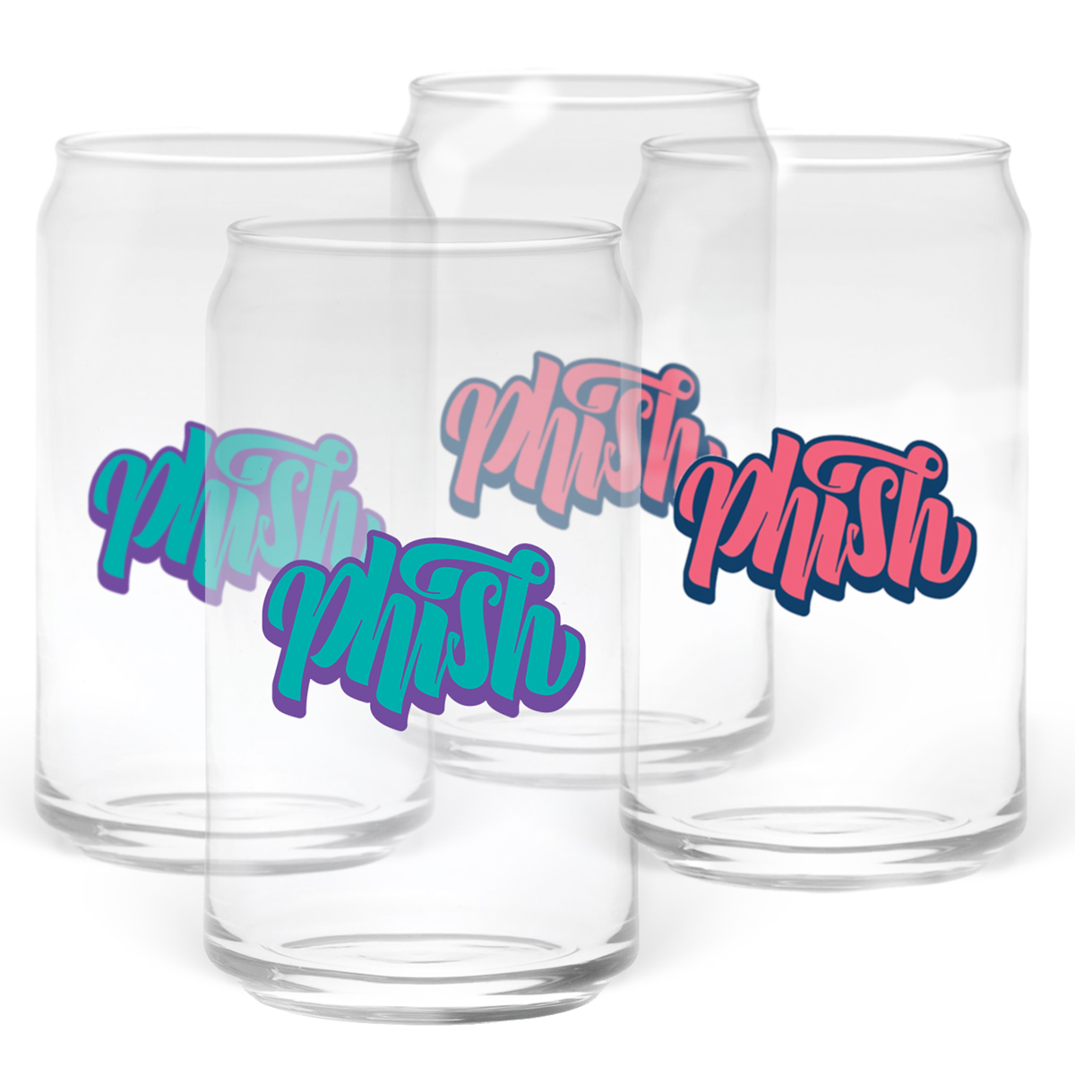 Faux-Can Pint Glass
