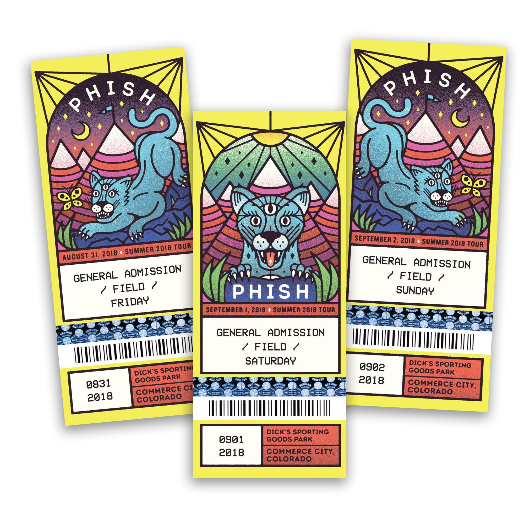 Colorado 2018 Ticket Magnets