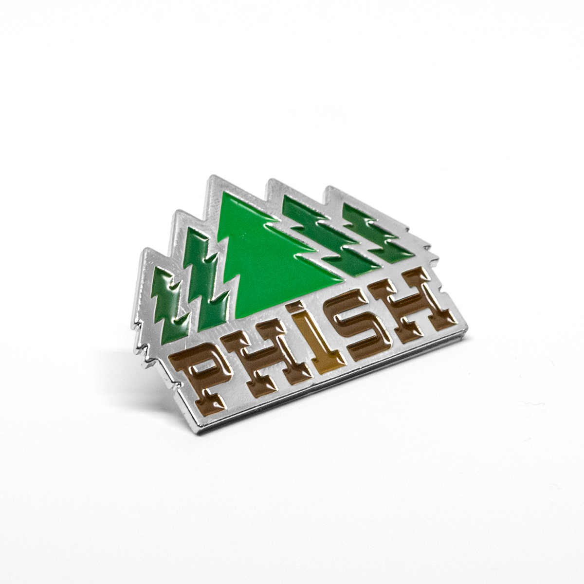 Timber Enamel Pin