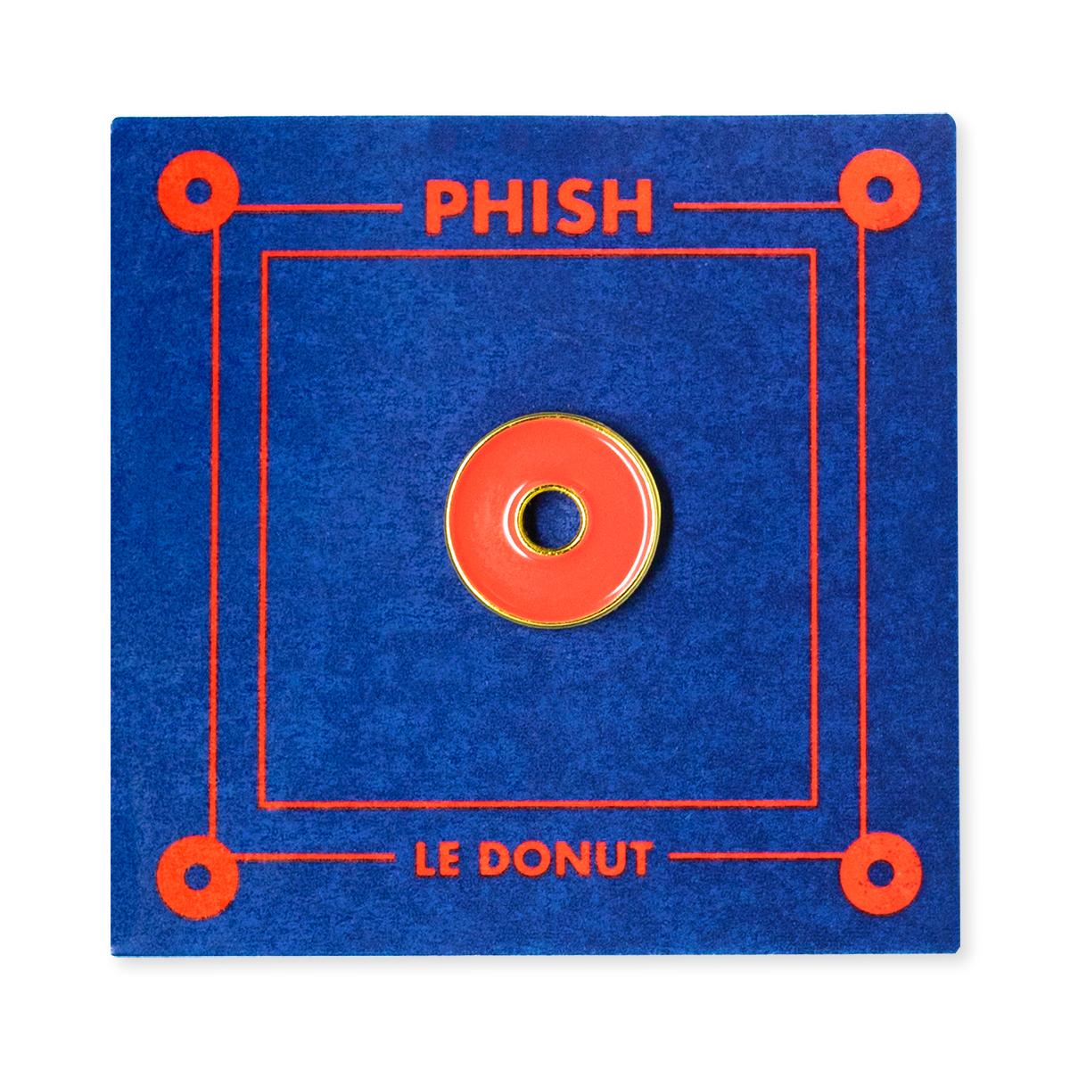 Fishman Donut Enamel Pin