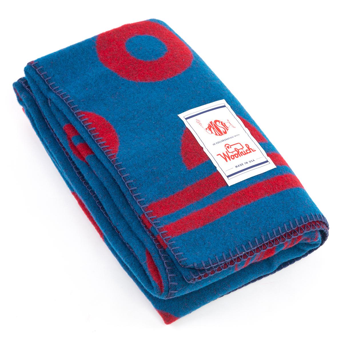 Phish x Woolrich Fishman Wool Blanket