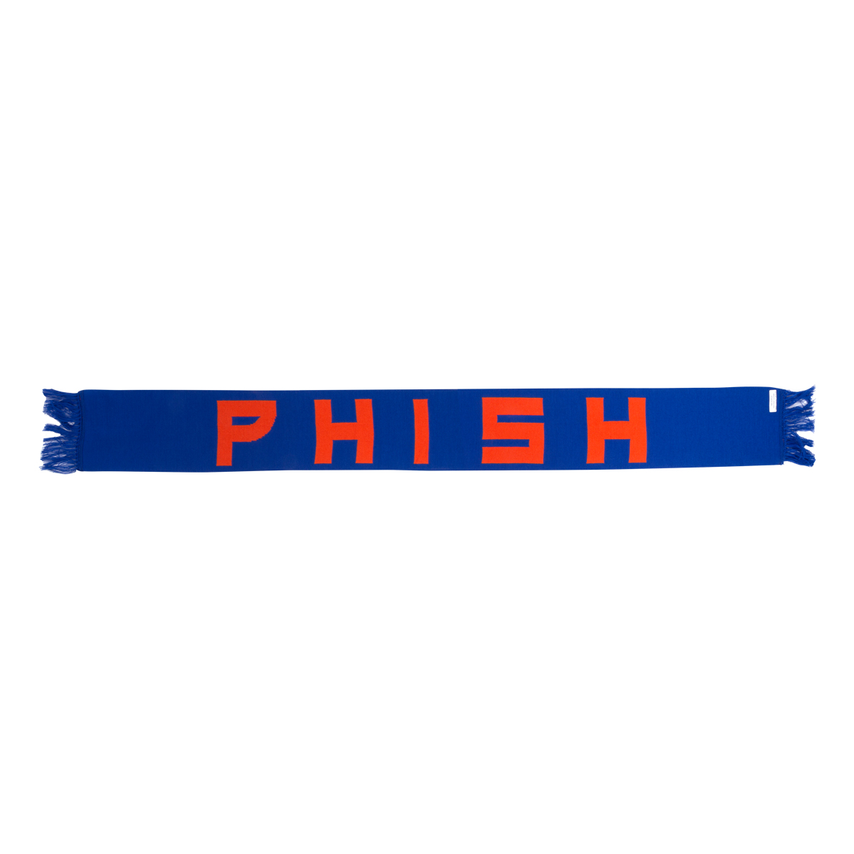 Phish Scarf in Orange/Blue