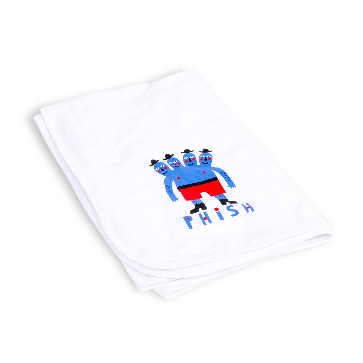 Four Headed Dude Infant Blanket